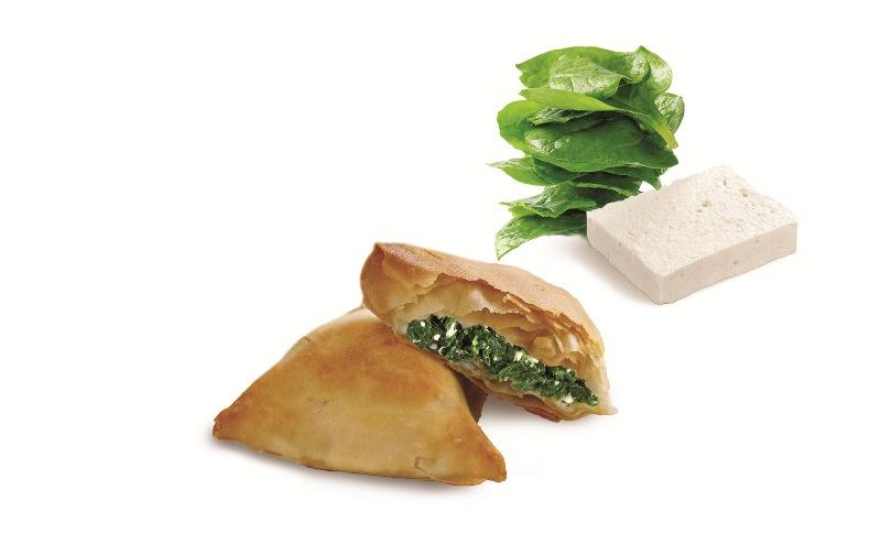 Τρόγωνα Πιτάκια Σπανάκι Τυρί