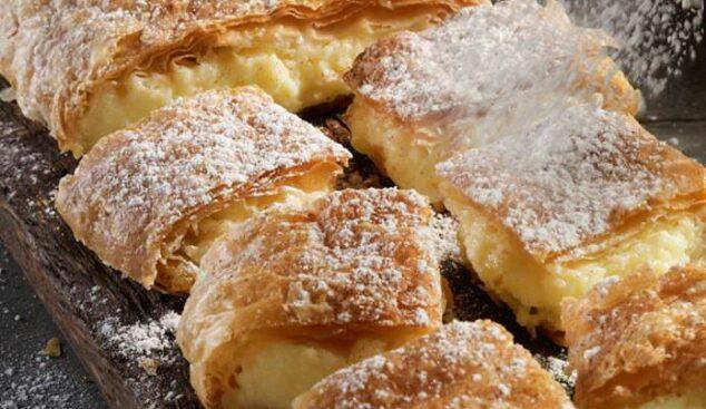 Bougatsa by Serres with vanilla cream filling